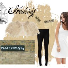 A Very Harry Potter Halloween with the help of Polyvore!