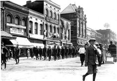 Circa 1918 on East Lafayette, behind new city hall, Jackson, TN