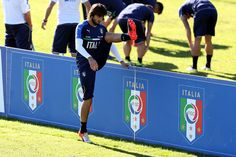 Mattia Perin of Italy during the training session at Coverciano on October 5, 2016 in Florence, Italy.