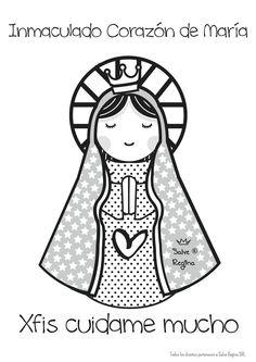 Resultado de imagem para virgem maria clipart