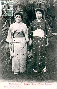 Saigon (1910) Travel Abroad, Geisha, Southeast Asia, Two By Two, Africa, Japanese, Photos, Vintage, Women