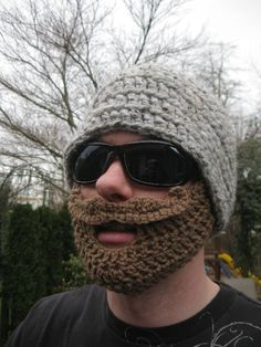 Amazingly, super hilarious but yet surprisingly functional as well! Dont just wear a hat - make a statement! Handlebar mustache added for extra