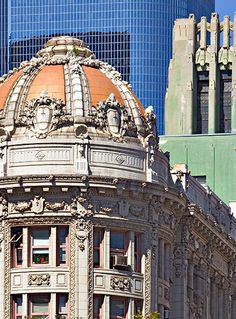 Downtown Los Angeles | Historic and modern architecture in downtown Los Angeles.