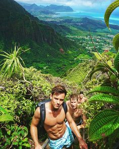 """437 Likes, 7 Comments - Kind of news ☆ Archive of news (Tom Daley.news) on Instagram: """"Paradise #Regrann from Dillon Neir -  best hiking squad on the island  #paradise #tomdaley #hawaii…"""""""
