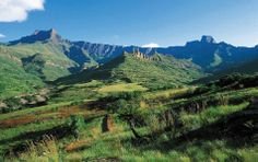 The Drakensberg is the largest and highest mountain range in Southern Africa. It's Northern and Central regions are most popular and can be found in South Africa while its southern region can be accessed from Lesotho. Four valleys can be … Continued Midland Meander, Beautiful World, Beautiful Places, Travel Log, Kwazulu Natal, Out Of Africa, Roadside Attractions, All Nature, Walkabout