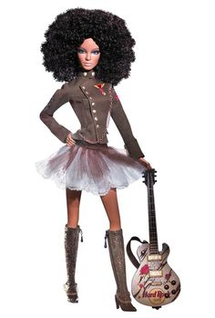 Hard Rock Cafe Barbie® Doll | Barbie Collector @Kasey Collins Collins Collins Collins Mirando Parker