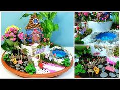 Jardín de Hadas DIY - Casita hada hecha de botella de Coca Cola - Isa ❤️ - YouTube