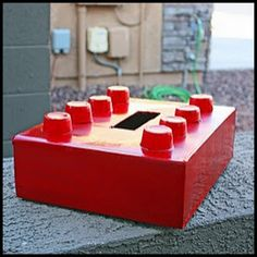 Lego St. Valentine's Day Valentine Box For Boys