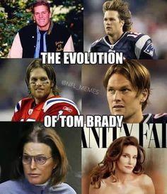 Evolution of Tom Brady lol