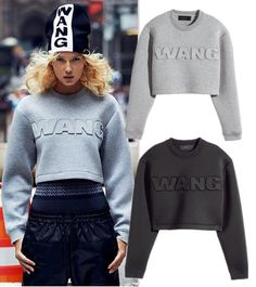 """Cheap hoodie new, Buy Quality hoodie dress directly from China hoodie coat Suppliers: 2015 Winter Hoodies for Women 3D embossing Print Letter """"WANG"""" O-Neck Long sleeve Space Cotton Sweatshirts New"""