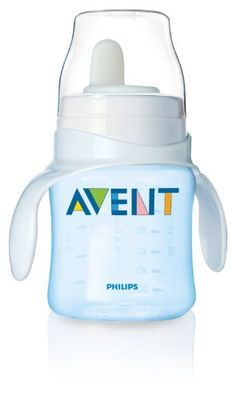 Philips AVENT Bottle To 1St Cup Trainer 4M  Blue -- To view further for this item, visit the image link.Note:It is affiliate link to Amazon. #followme
