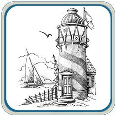 Sailing Ships Lighthouse Wood Carving Patterns by L. S. Irish ...