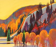 """Spring Patterns by Cottonwood Cove"""" by Stephan Quiller (gotta get this guy's book on color theory)"""