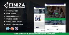 Download Nulled Finiza  Business & Finance HTML Template For Free