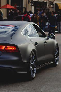 "johnny-escobar: ""Matte Grey Audi S7 """
