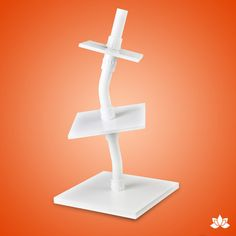 Square Topsy Turvy Caddy Wampus Cake Stand | CaljavaOnline