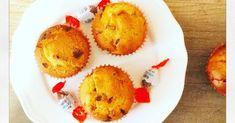 Muffins au pépites de kinder, coeur Schokobons gâteau goûter enfant chocolat facile recette