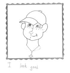 Avatar #11 from the 2nd grade. What does your avatar say about you?