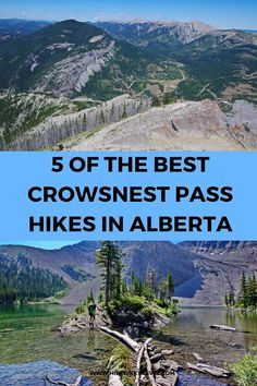 5 of the Best Crowsnest Pass Hikes in Alberta - Hike Bike Travel - - Five of the best Crowsnest Pass hikes in SW Alberta are described. All offer superb mountain hiking, save for the Frank Slide, without the crowds. Places To Travel, Travel Destinations, Places To Visit, Ecuador, Alaska, Alberta Travel, Road Trip, Canadian Travel, Canadian Rockies
