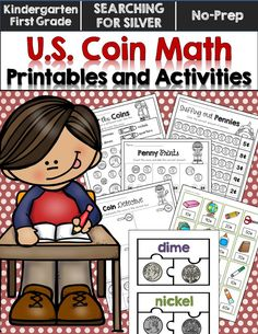 Coin printables and center activities--has activities that are simple and get more difficult. I used these with preschoolers all the way up to second grade!