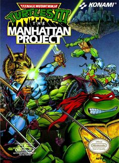 TMNT The Manhattan Project NES