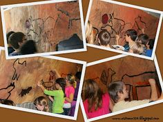 Sixth graders have finished their cave walls! Last year I didn't get to do a cave art project with the students because they breezed throu. Slytherin, Hogwarts, Stone Age Ks2, Prehistoric Age, Cave Drawings, 6th Grade Art, Magic Treehouse, We Will Rock You, Art Lessons For Kids