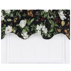 Garden Images Black 50 X 15 Inch Lined Duchess Filler Valance Ellis Curtain Valances & Win