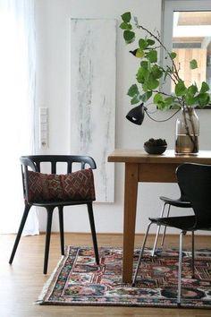 Natürlich sommerlich! Die schönsten Wohnideen aus dem Juli | Foto von Mitglied Lunchen #SoLebIch #esszimmer #diningroom #interior #interiordesign #scandinavianinterior #scandi #skandi #scandinavianstyle