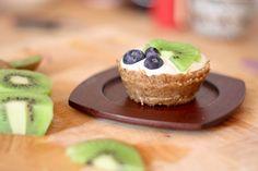 Cashew Cream Cups vegan and  a Raw Food!! / Dessert à la crême et aux noix de cajou, aliment vivant!