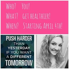 Did you eat too much junk food this weekend? Tired of feeling crappy? Or are you just wanting to get fit before Summer? Join my challenge group at the beginning of April to get a better healthier YOU! No magic pills or wraps. Fitness  Nutrition  Accountability = Success! Ask me for more details! Ansmarkland@gmail.com by asmarkland