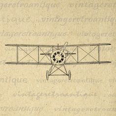 Digital Printable E1 Airplane Download Graphic Image Artwork Antique Clip Art. Printable digital image from vintage artwork for transfers, printing, and more great uses. Great for etsy products. This digital graphic is large and high quality, size 8½ x 11 inches. Transparent background version included with all images.