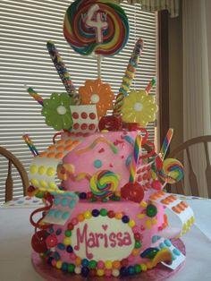 My daughters 4th Birthday cake