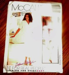 MCCALL'S FIT FOR REAL PEOPLE PATTERN 2694 SIZE Z