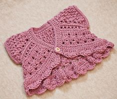 Instant download - Crochet Cardigan PATTERN (pdf file) - Butterfly Shrug - Cardigan (sizes baby up to 6 years)