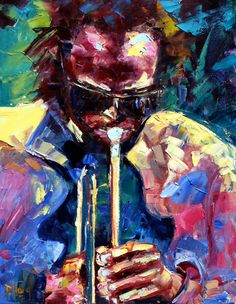 Debra Hurd Portraits - Miles Davis