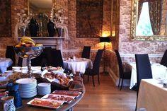 Breakfast Room in the Castle Durrow in Ireland I @SatuVW