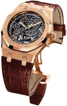 La montre Audemars Piguet Royal Oak ...