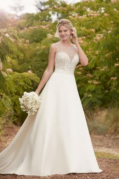 Featured Dress: Essense Of Australia; Wedding dress idea.