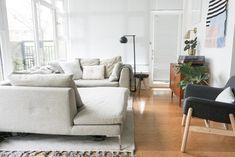 Living Area in Alison Mazurek's Vancouver Apartment