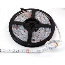 RGB LED weatherproof flexi-strip 30 LED - (1 m)