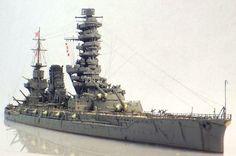 IJN Battleship Fuso Model