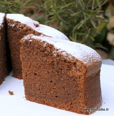 simple cake, La Tendresse, a healthy snack perfect for children. Fall Dessert Recipes, Köstliche Desserts, Chocolate Desserts, Delicious Desserts, Chocolate Cake, Chocolat Recipe, Parfait, Chefs, Desserts With Biscuits