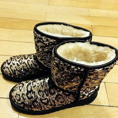 Leopard Uggs- I know this is different for me, but Idc, I like them