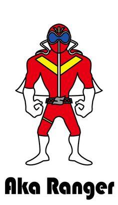 Red Ranger アカレンジャー