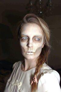 ghost makeup ideas for women