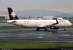 Airbus A321-231, Volaris, XA-VLT, cn 7125, 220 passengers, first flight 4.5.2016, Volaris delivered 17.5.2016. Active, for example 12.6.2016 flight Cancun - Mexico City. Foto: Mexico City, Mexico, 8.6.2016.