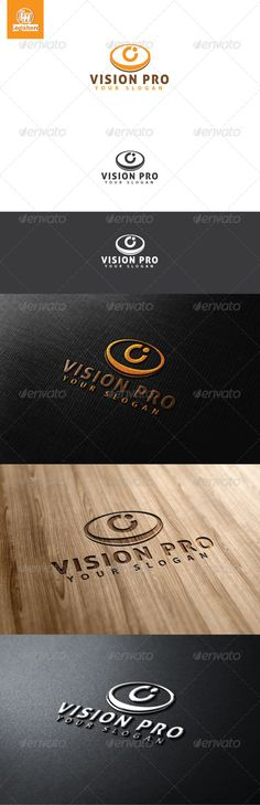Vision Pro Logo Template  #GraphicRiver         Vision Pro Logo Template, An excellent logo template highly suitable for logo