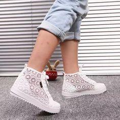 wholesale dealer 5ff64 6fdc6 2016 primavera y el verano de la lona para mujer de los zapatos ocasionales  respirables zapatillas