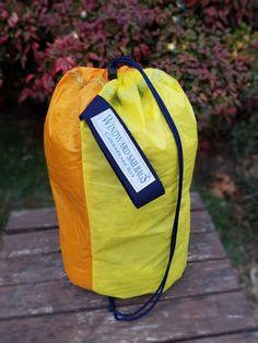 Windward Sailbags Recycled Sail Spinnaker Ditty Bag with Drawstring Closure