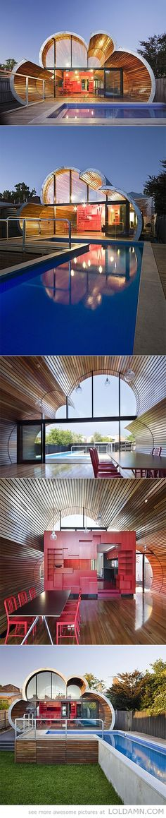 creative design cloud house